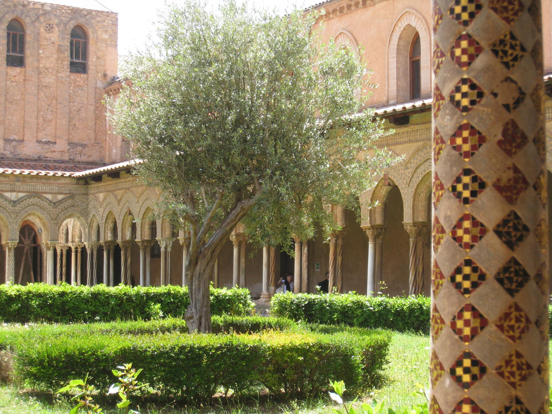 Cloître de l'Abbaye de Monreale
