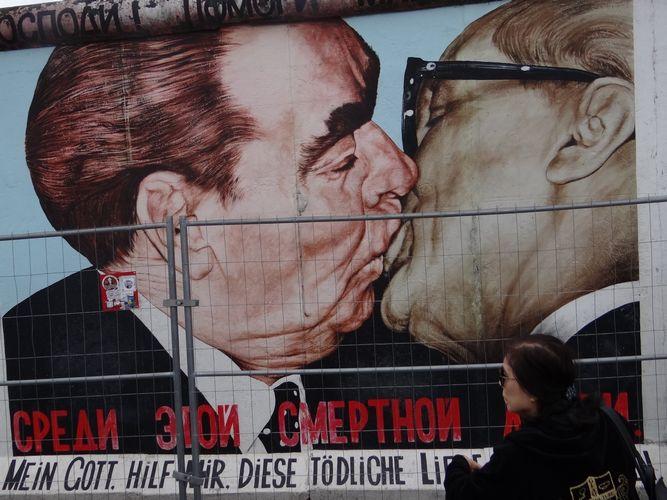 Célèbre photo du mur