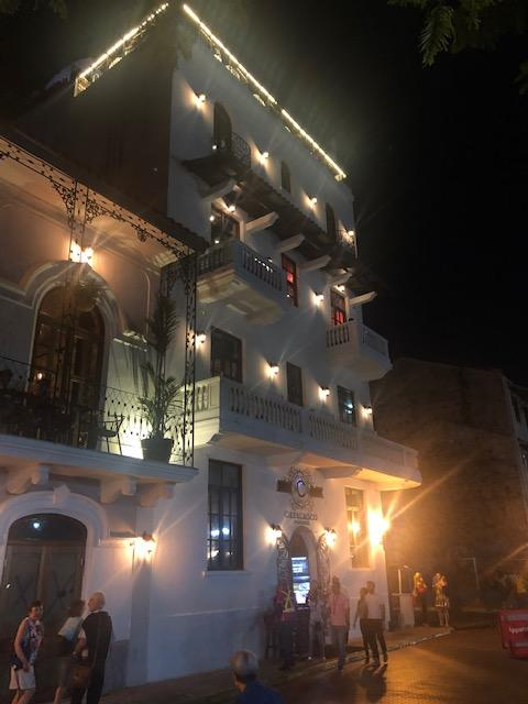 Escapade nocturne dans le quartier de Casco Viejo