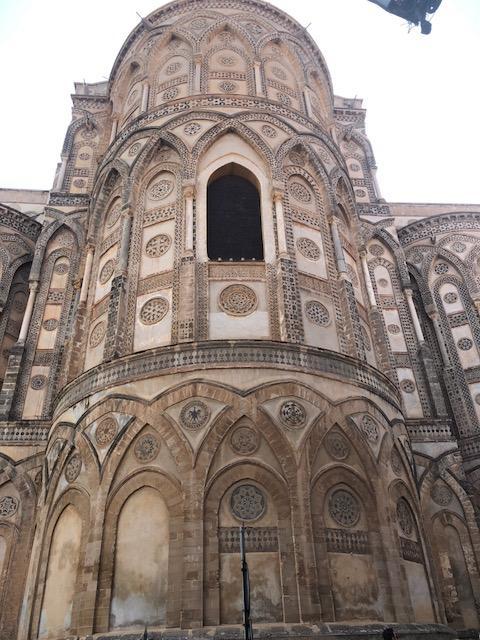 Extérieur abbaye de Monreale