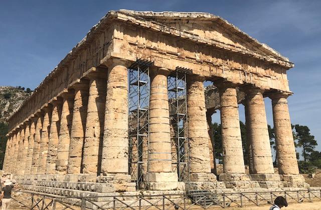 Temple de Segeste le 3 juin
