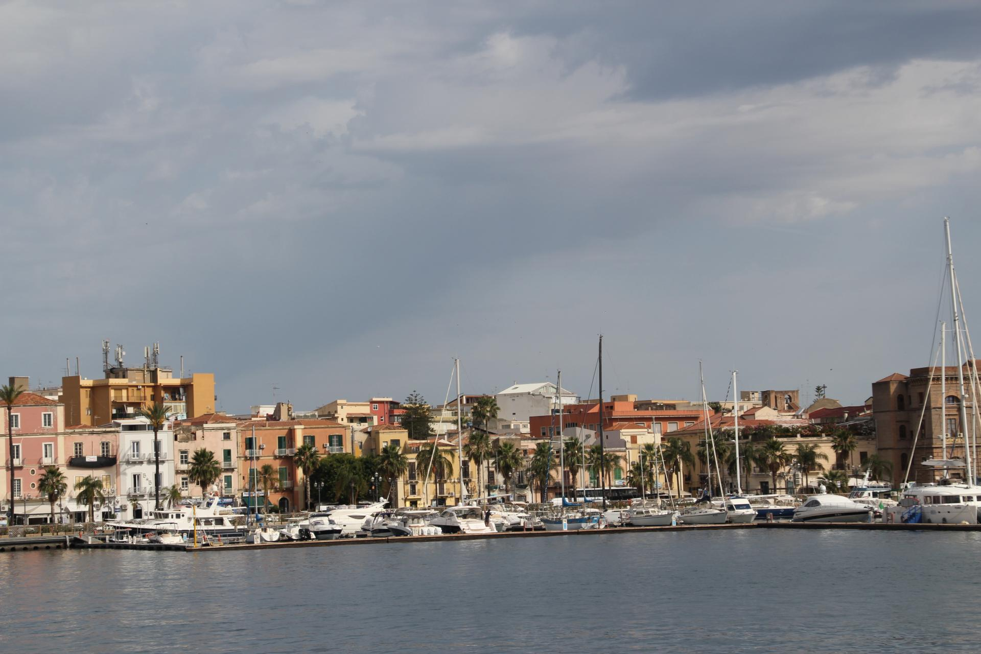 Arrivée dans le port de Lipari le 7 juin