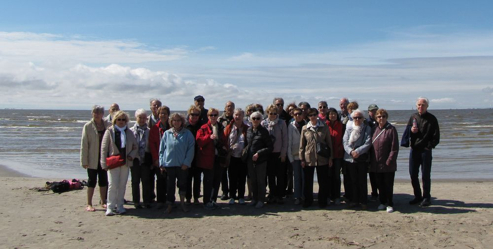 Photo de groupe Plage de PARNU