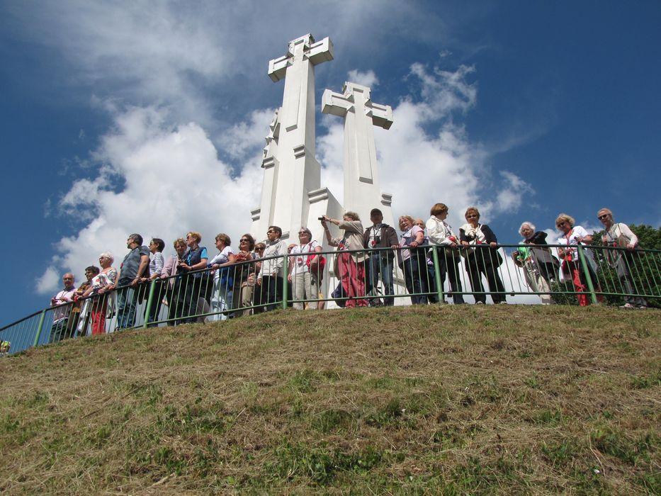 VILNIUS Colline aux trois croix