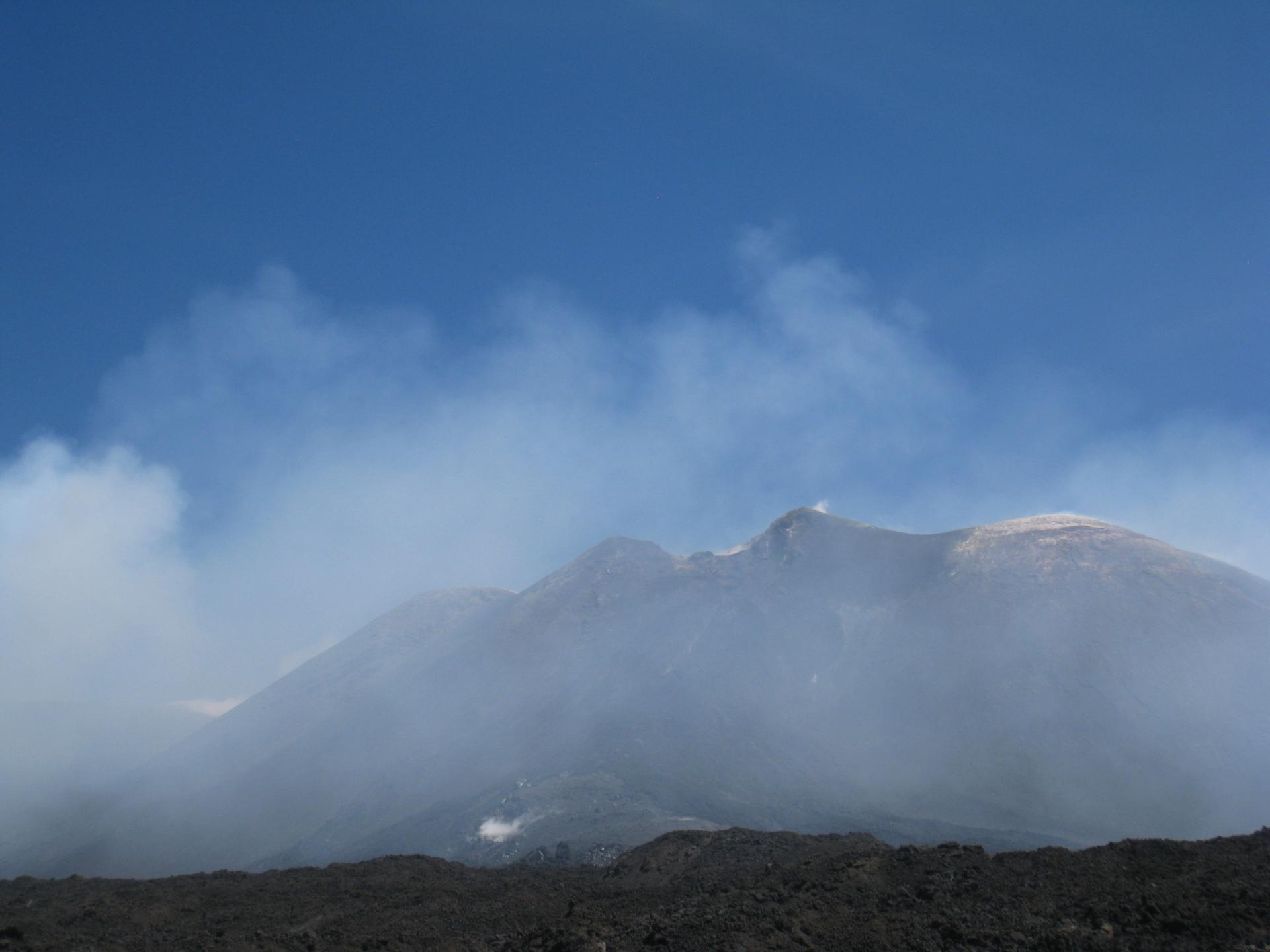L'Etna le 6 juin