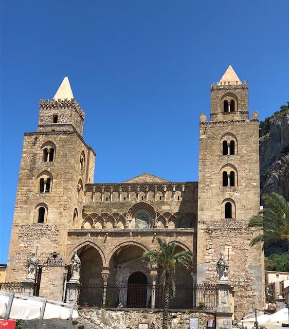 La cathédrale arabo-normande de Cefalu
