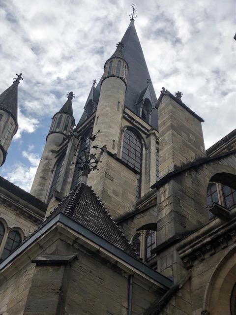 La flèche de la Cathédrale Notre Dame