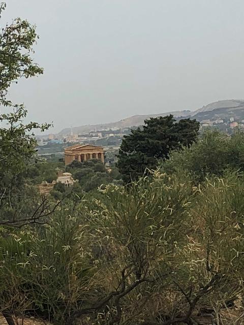 La Vallée des temples à Agrigente