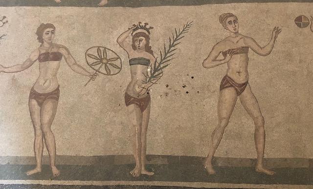 La Villa romaine Del Casale - mosaïques