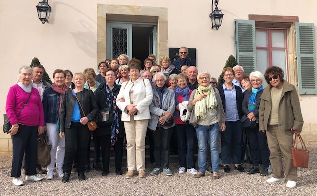 LULRR en visite au musée Baccarat