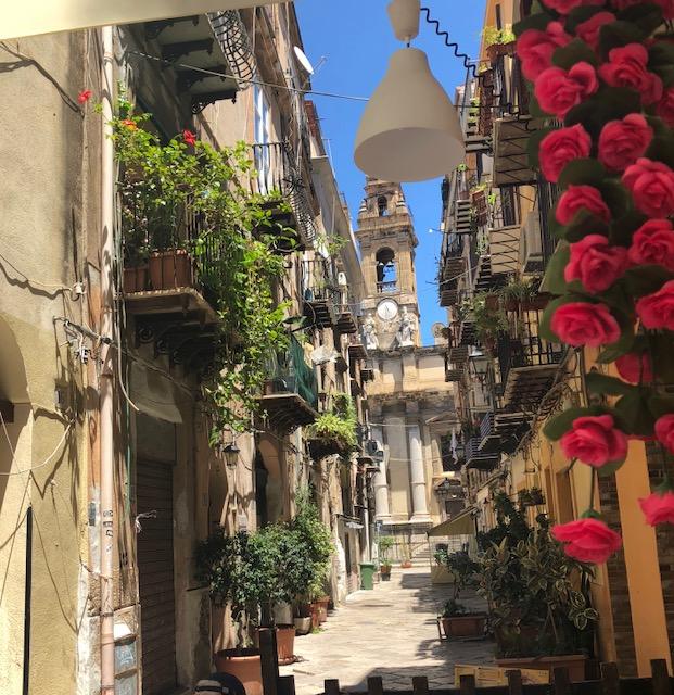 Promenade dans les rues de Palerme