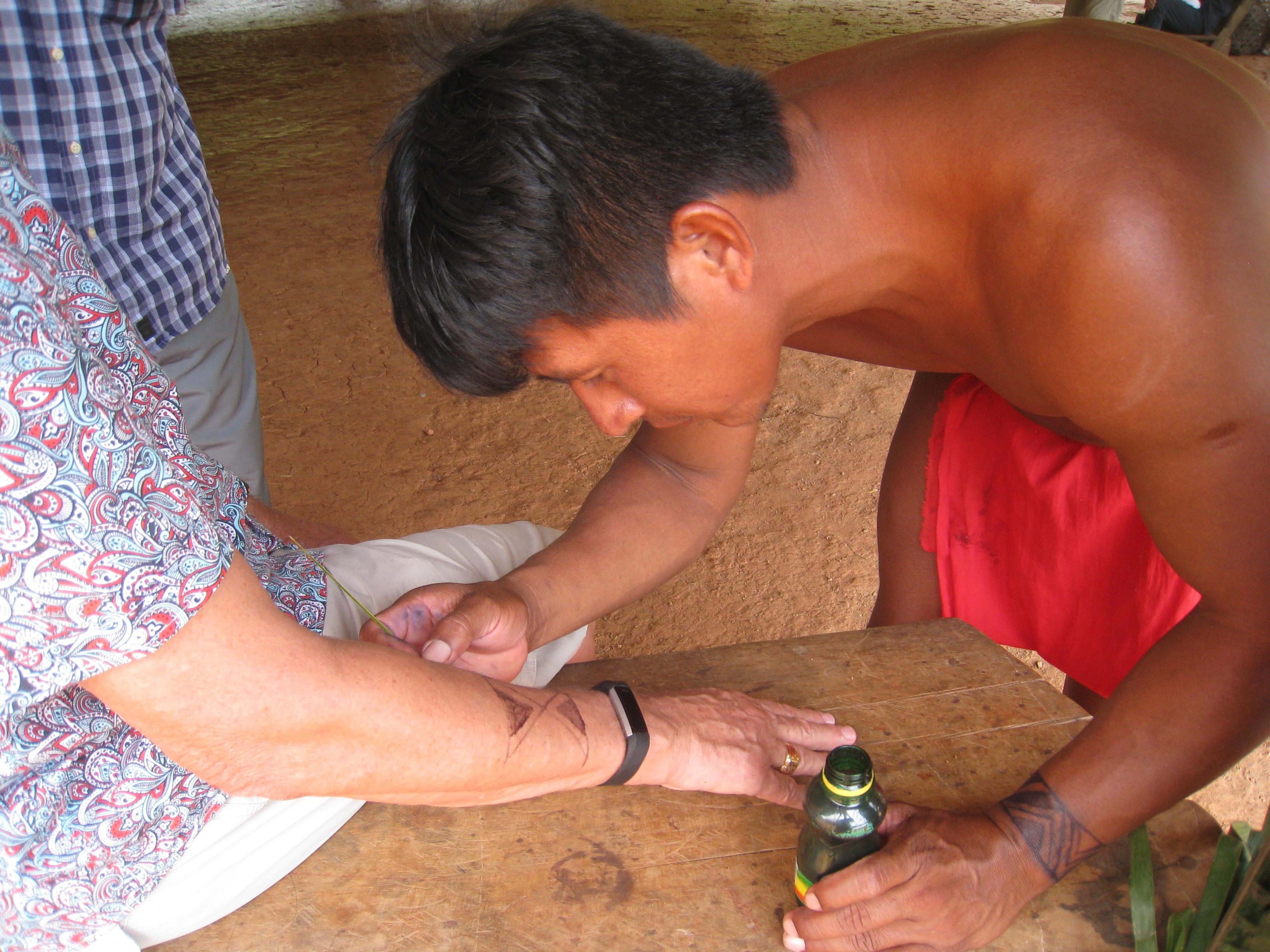 Séances de tatouages