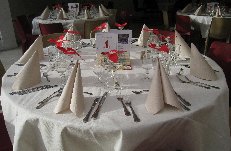 table décorée
