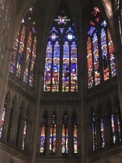 Un aperçu des vitraux de la cathédrale St Etienne de Metz