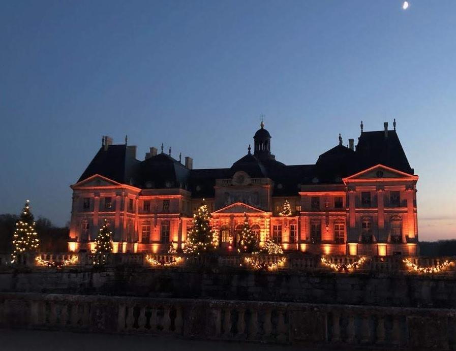 Le château illuminé