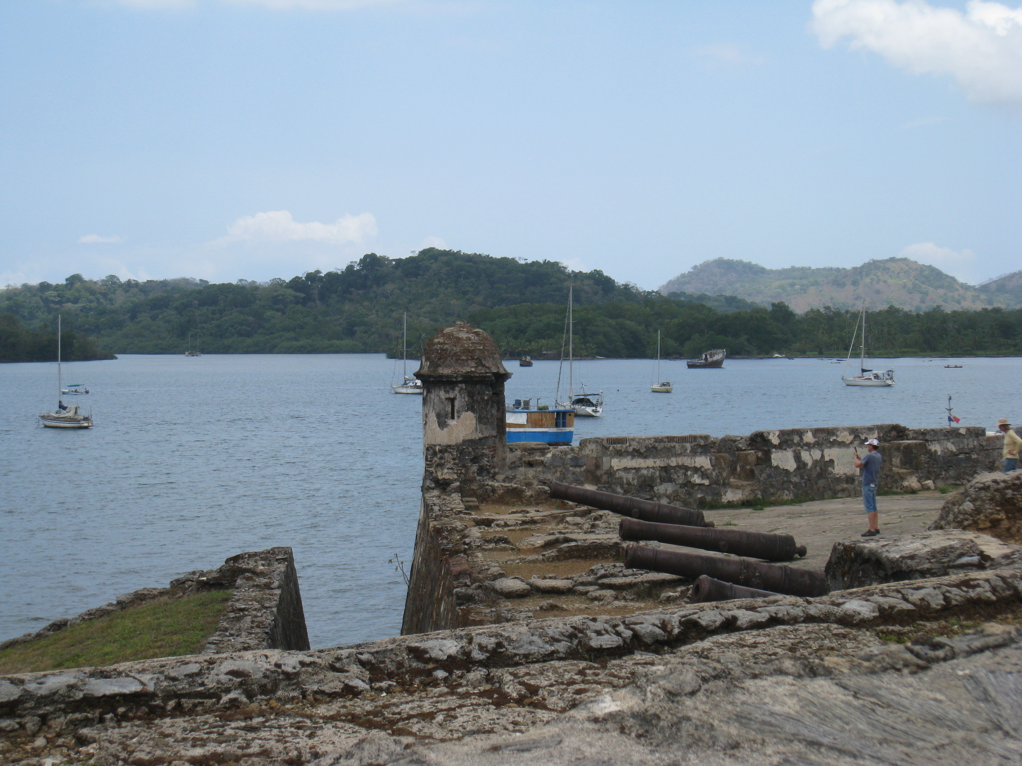 Visite du fort de Portobelo
