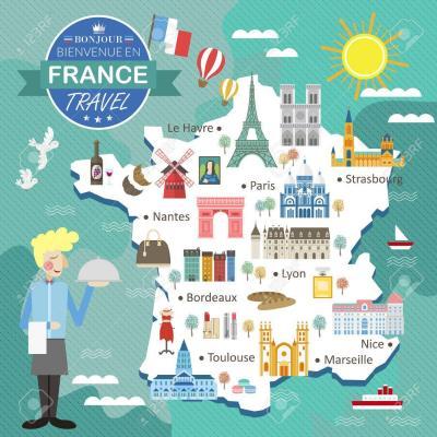 53715735 carte voyage france attractive avec des attractions et des specialites